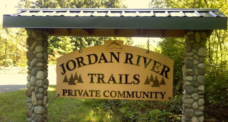 Jordan River Trails Sign